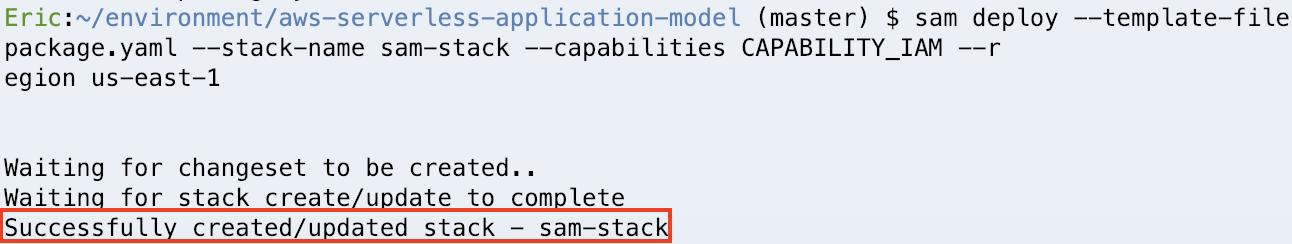 AWS Serverless Application Model – eCloudture